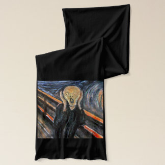 The SCREAM Vintage Retro Art Classic by Munch Scarf