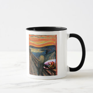 The Scream (with Coelacanth) Mug