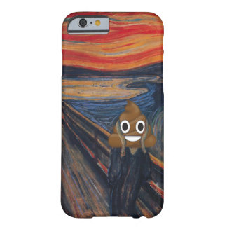 The Scream with Happy Poop Barely There iPhone 6 Case