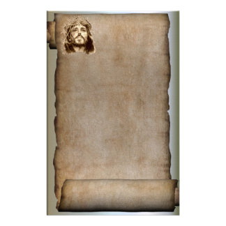 The Scroll of Jesus Christ, Crown of Thorns Stationery