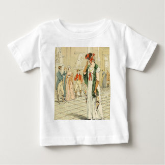 The Sculpture Gallery in the Louvre Baby T-Shirt