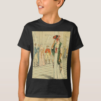 The Sculpture Gallery in the Louvre T-Shirt