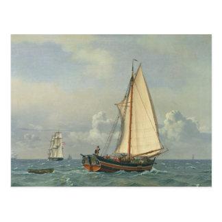 The Sea, 1831 Postcard