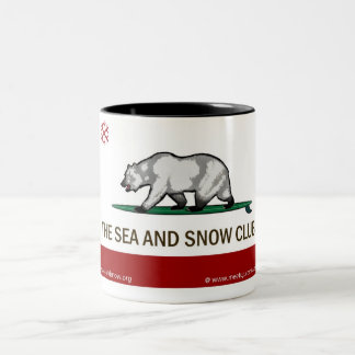 The Sea and Snow Club - Customizable Mug