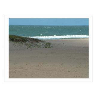 the sea at Uruguay Postcard