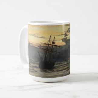 The Sea-Beach after a Storm  Time, Dawn Coffee Mug
