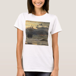 The Sea-Beach after a Storm  Time, Dawn T-Shirt