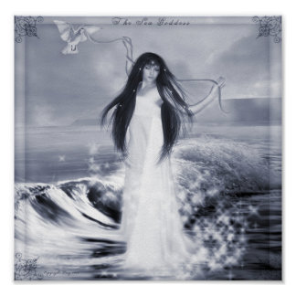 The Sea Goddess Poster