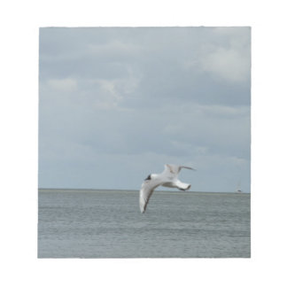 The sea gull and the sea notepads