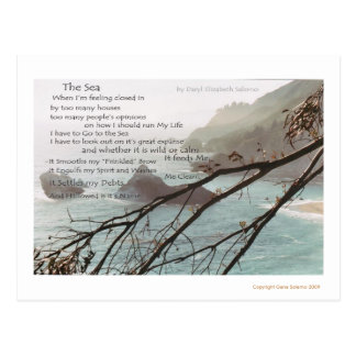 The Sea Postcard