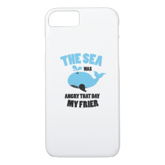 The Sea Was Angry That Day My Friends Funny iPhone 8/7 Case
