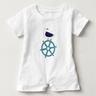 The Seagul Baby Romper