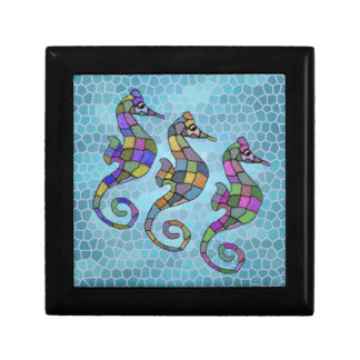 The Seahorse Rainbow Jewelry Box