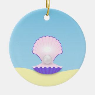 The Seashell Ceramic Ornament
