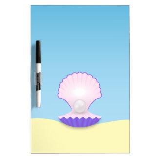 The Seashell Dry Erase Board