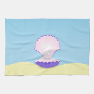 The Seashell Kitchen Towel