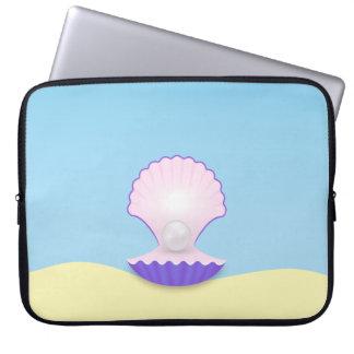 The Seashell Laptop Sleeve