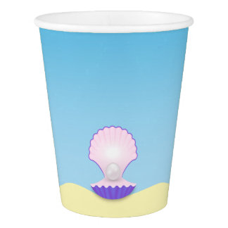 The Seashell Paper Cup