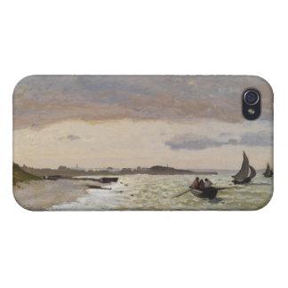 The Seashore at Sainte-Adresse, 1864 iPhone 4 Case