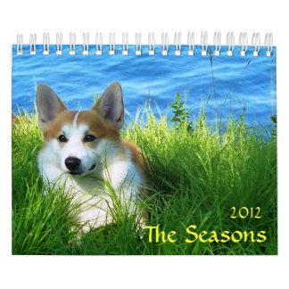 The Seasons, 2012 Wall Calendar