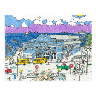 The Seattle Aquarium Postcard