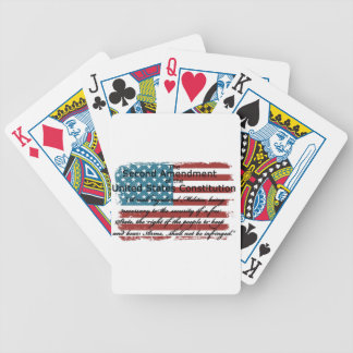 The Second Amendment Bicycle Playing Cards