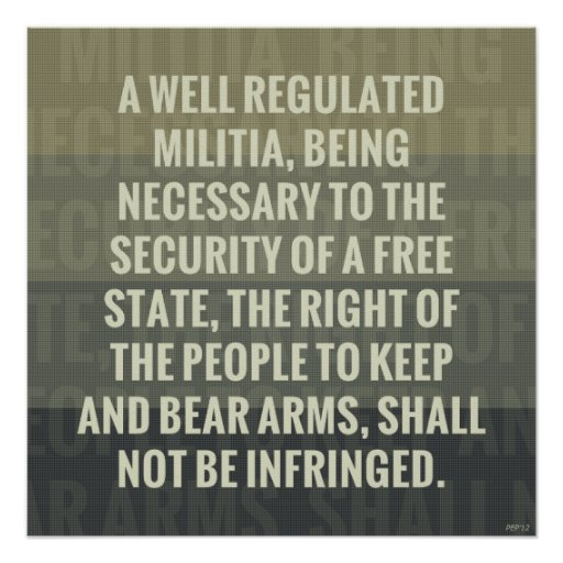 the second amendment to the constitution of the united states Tion of the second amendment to the states is good law today  in united states v  2nd amendment us constitution--bearing arms .