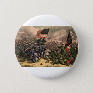 The Second Battle of Bull Run American Civil War 2 Inch Round Button