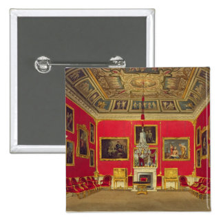The Second Drawing Room, Buckingham House, from 'T 2 Inch Square Button