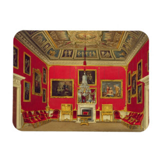 The Second Drawing Room, Buckingham House, from 'T Rectangular Photo Magnet