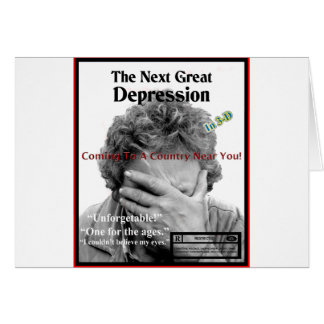 The Second Great Depression Card