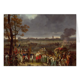 The Second Siege of Mantua Greeting Card