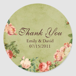 The Secret Garden Inspired Thank You Stickers