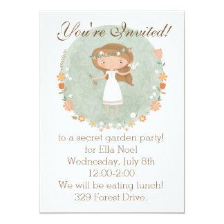 The Secret Garden Party Invitation