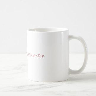 THE SECRET INGREDIENT IS MY SPIT! COFFEE MUG