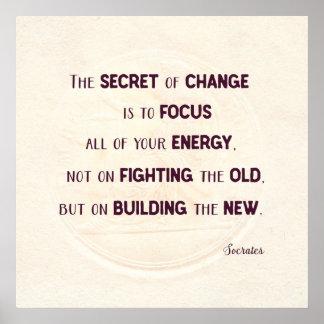 The Secret of Change Poster