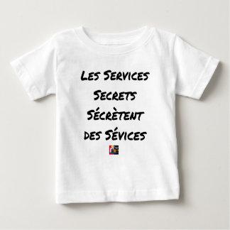 THE SECRET SERVICES SECRETE MALTREATMENT BABY T-Shirt