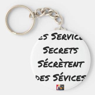 THE SECRET SERVICES SECRETE MALTREATMENT KEYCHAIN