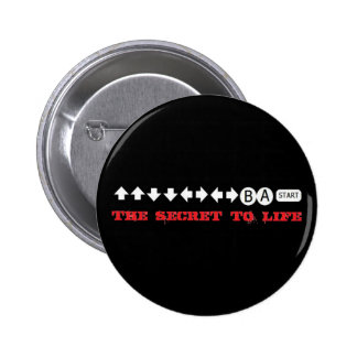 The secret to life 2 inch round button