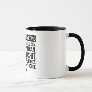 THE SECRET TO WRITING: Mug
