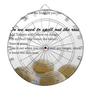 The Secrets of Pizza Dartboard