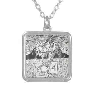 The_Seeding Silver Plated Necklace