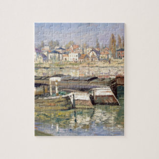 The Seine at Asnieres by Claude Monet Jigsaw Puzzle