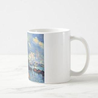 The Seine at Bercy by Paul Cezanne Coffee Mug