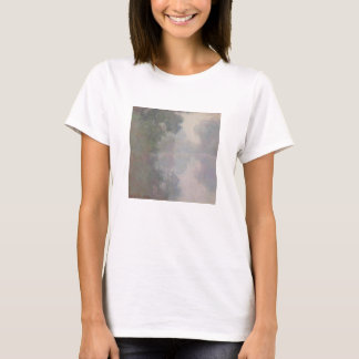 The Seine at Giverny, Morning Mists T-Shirt