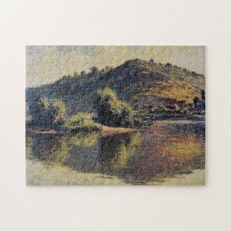The Seine at Port-Villez Monet Fine Art Jigsaw Puzzle