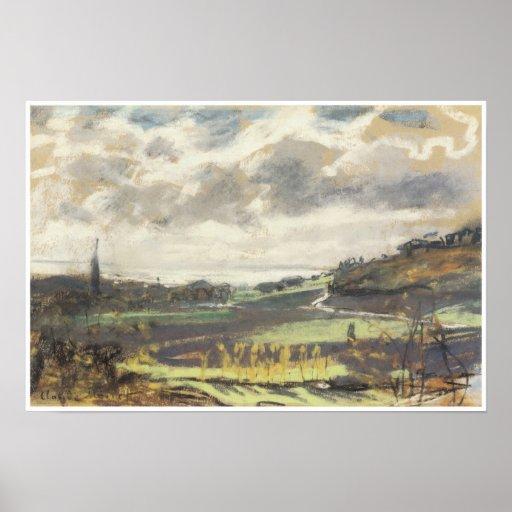The Seine Estuary, c. 1864-70 Posters