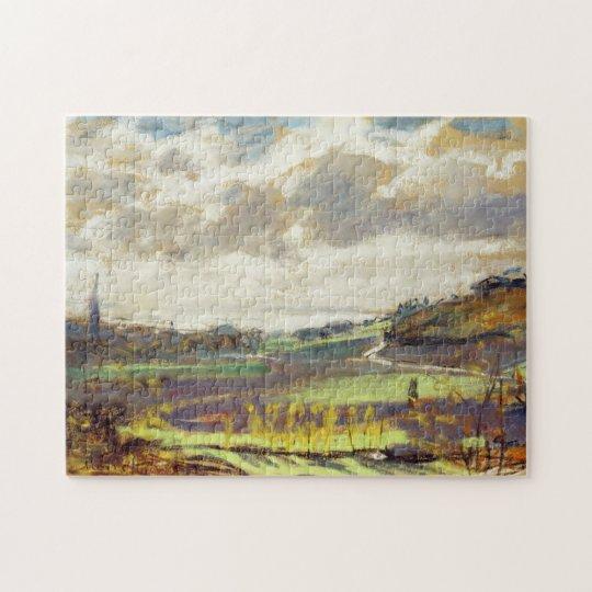 The Seine Estuary Monet Fine Art Jigsaw Puzzle
