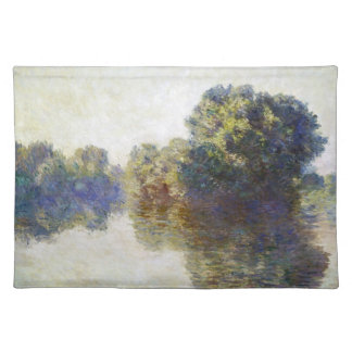 The Seine near Giverny Claude Monet Placemat