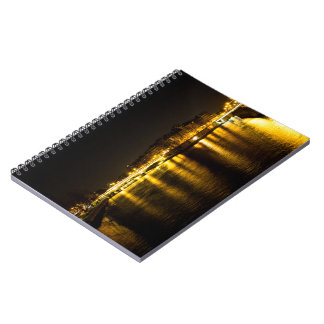The Seine River crossing the city of Paris Notebooks
